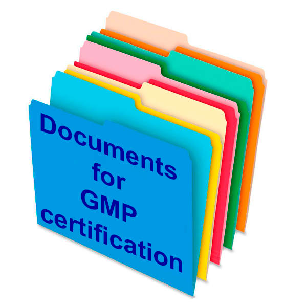 Documents For Gmp Certification